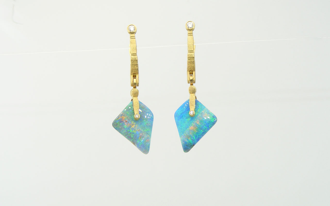 Carribean-blue-opal-SS-earrings