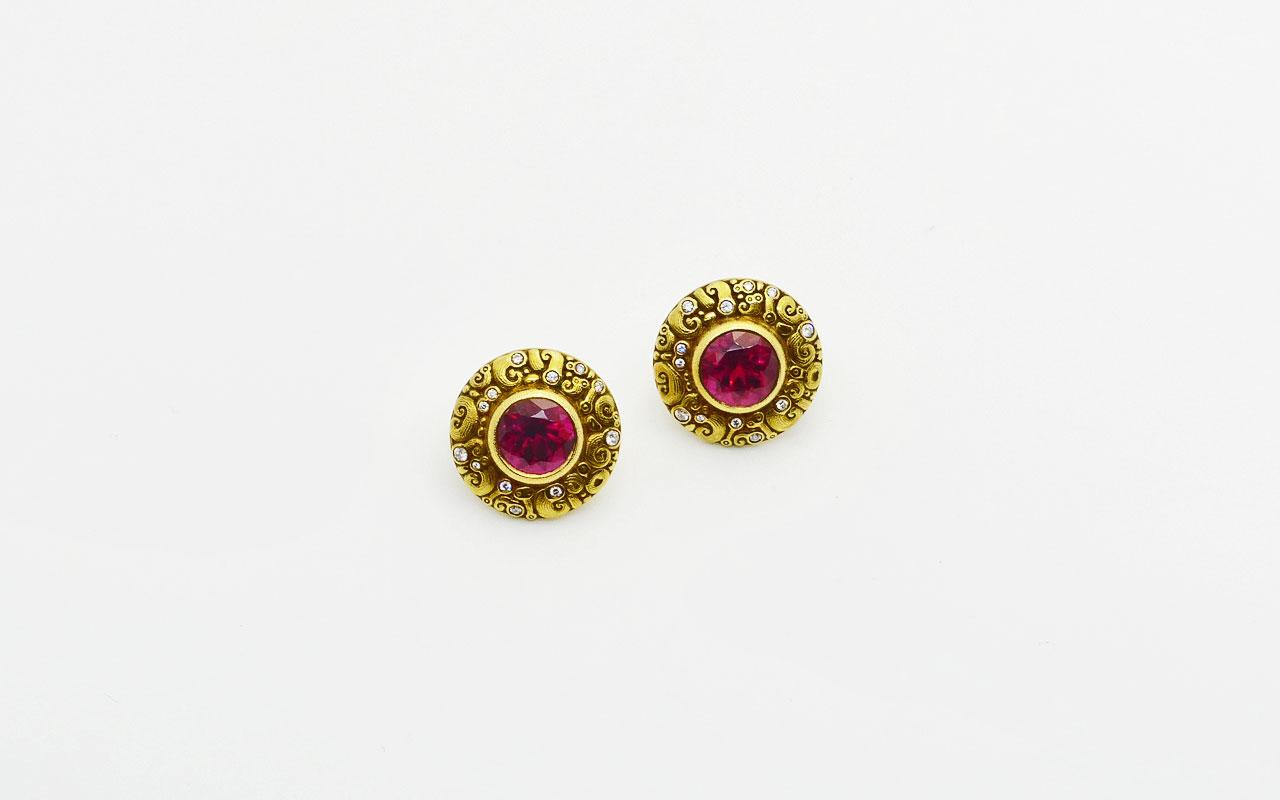 Rubellite-Temptation-earring-pair