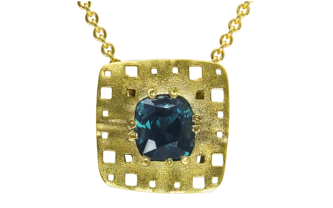 web square characters teal spinel