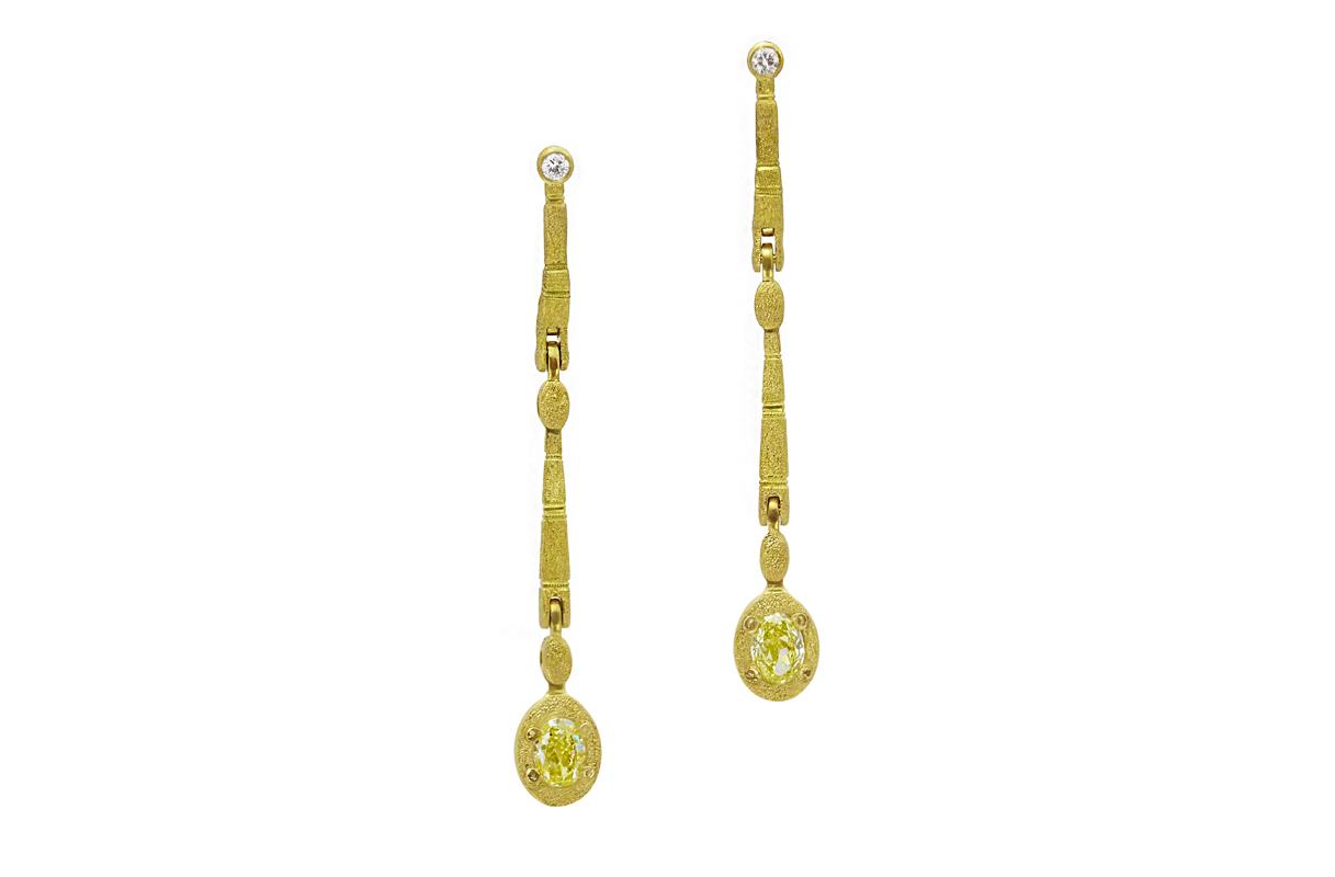web long dia earrings